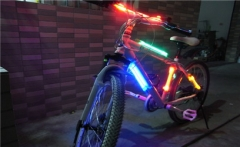 Fiber Optic for Bicycle Safety Lighting