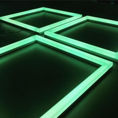 Custom colour changing LED squares